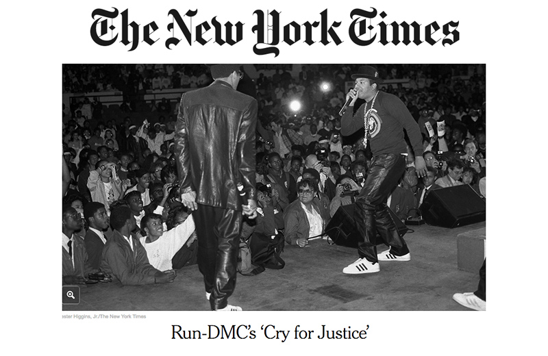 NY Times disses Run-D.M.C.