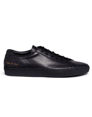 common projects achilles nappa sneaker