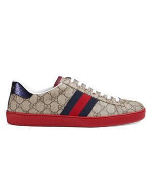 gucci ace supreme gg sneaker