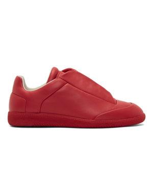 margiela red sneakers