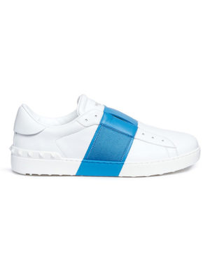 valentino open colorblock blue